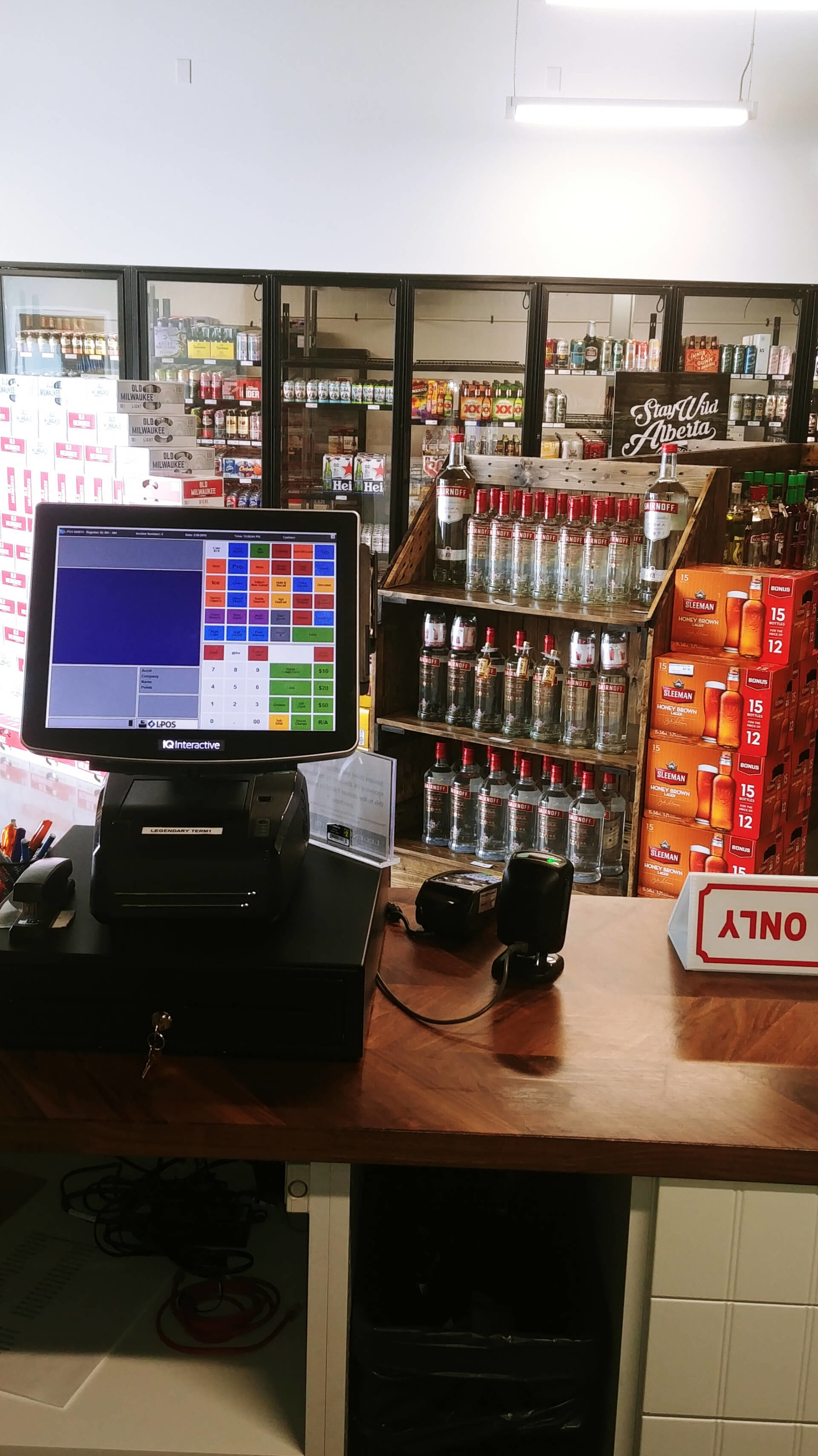 Intelligent Liquor Store POS Systems