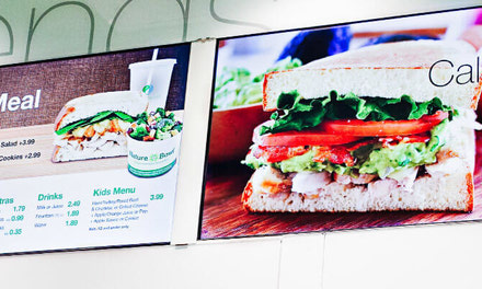 Restaurants Digital Signage Systems
